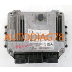 CALCULATEUR MOTEUR CITROEN, PEUGEOT 1.6 HDI, BOSCH 0 281 013 329, BOSCH 0281013329, 96 669 754 80, 9666975480, EDC16C34