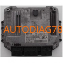 CALCULATEUR MOTEUR CITROEN PEUGEOT 1.6 HDI BOSCH 0 281 011 802, 0281011802, 96 568 411 80, 9656841180