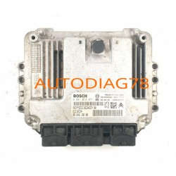 CALCULATEUR MOTEUR CITROEN C4 BERLINGO PEUGEOT PARTNER 1.6 HDI BOSCH 0281013871, 0 281 013 871, 9664618080, 96 646 180 80, 96539