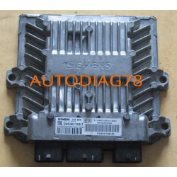 CALCULATEUR MOTEUR CITROEN C2 1.4 HDI 5WS40115C-T SID 804 SW9652890280, SW 9652890280 HW9647568180, HW 9647568180