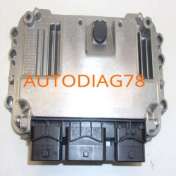 CALCULATEUR MOTEUR CITROEN PEUGEOT BOSCH 0 261 208 965, 0261208965, ME7.4.5, ME745, 96 600 609 80, 9660060980