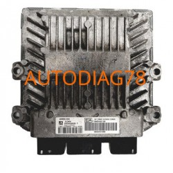 CALCULATEUR MOTEUR PEUGEOT CITROEN SIEMENS SID 801A 5WS40155C-T, 5WS40155CT, SW 9657662380, HW 9647423380