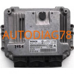CALCULATEUR MOTEUR CITROEN BERLINGO 1.6HDI BOSCH 0 281 012 619, 0281012619, 96 639 439 80, 9663943980, 9653950980, EDC16C34
