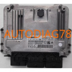 CALCULATEUR MOTEUR PEUGEOT 206, 207 1.6 HDI, BOSCH 0 281 017 601, 0281017601, 96 770 392 80, 9677039280, EDC17C10