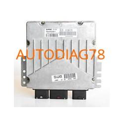 CALCULATEUR MOTEUR PEUGEOT Partner 2HDI 90CV SIEMENS SID 801 5WS40025E-T, 5WS40025ET, SW 9646801080, HW 9644323980, 1938XF
